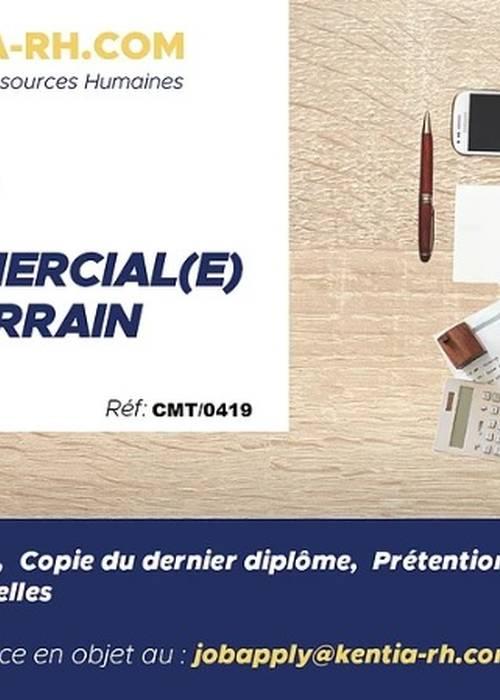 UN(E) COMMERCIAL(E) DE TERRAIN réf: CMT/0419