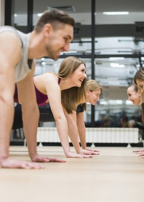 Exercice de Fitness pour la santé