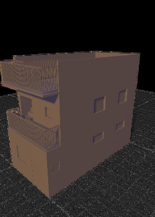 modelisation 3d avec rendu réaliste des pièces, machine, maison, ...