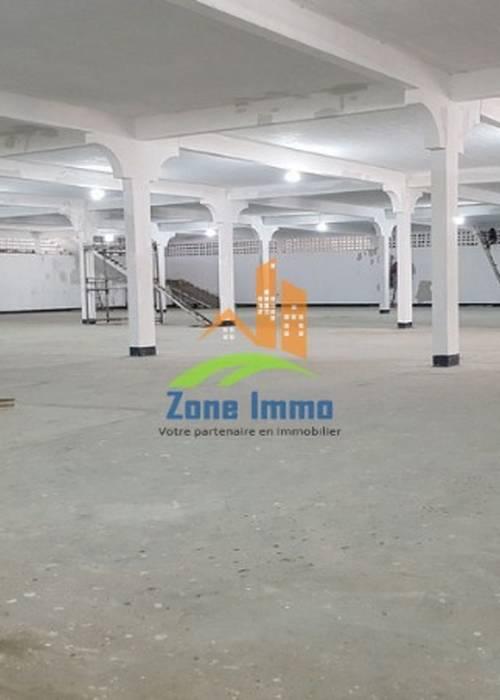 Grand local de 2.000m² à usage mixte à Anosizato, Nous consulter.