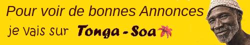 Les petites-annonces sont sur Tonga-Soa